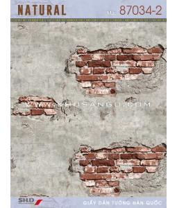 NATURAL Wall Paper 87034-2