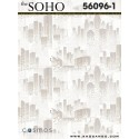 Soho wallpaper 56096-1