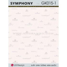 Giấy Dán Tường SYMPHONY GK015-1