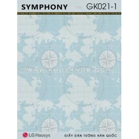 Giấy Dán Tường SYMPHONY GK021-1