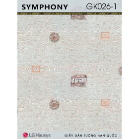 Giấy Dán Tường SYMPHONY GK026-1