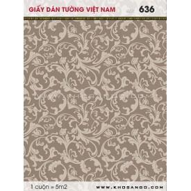 Giấy dán tường Việt Nam 636