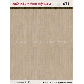 Giấy dán tường Việt Nam 671