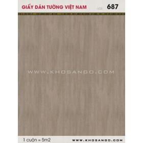 Giấy dán tường Việt Nam 687