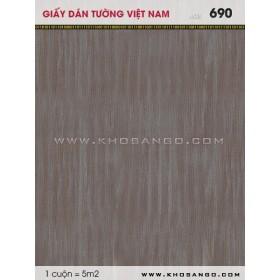 Giấy dán tường Việt Nam 690