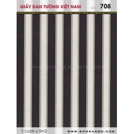 Giấy dán tường Việt Nam 708