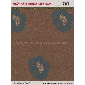 Giấy dán tường Việt Nam 781