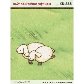 Giấy dán tường Việt Nam KD-855