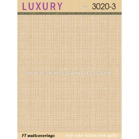Giấy Dán Tường Luxury 3020-3
