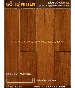 Sàn gỗ căm xe 750mm