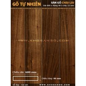 Sàn gỗ Chiu liu 600mm