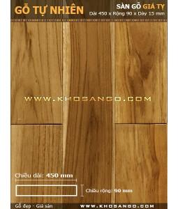 Teak hardwood flooring 450mm