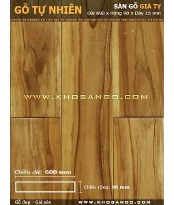Teak hardwood flooring 600mm