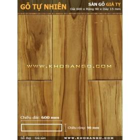 Sàn gỗ  Giá tỵ ( Teak ) 600mm