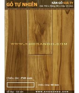 Teak hardwood flooring 750mm