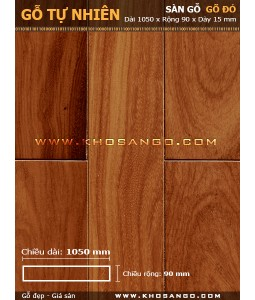 Doussie hardwood flooring 1050mm