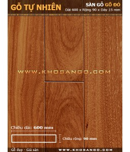 Doussie hardwood flooring 600mm
