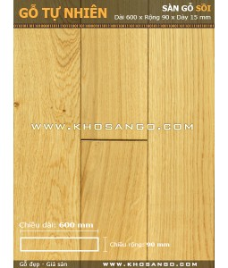 Oak hardwood flooring 600mm