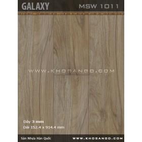 Sàn nhựa Galaxy MSW1011