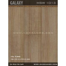 Sàn nhựa Galaxy MSW1013