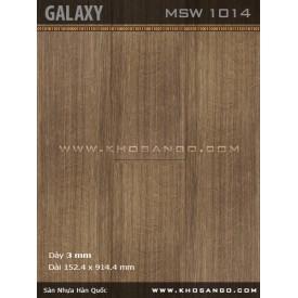 Sàn nhựa Galaxy MSW1014