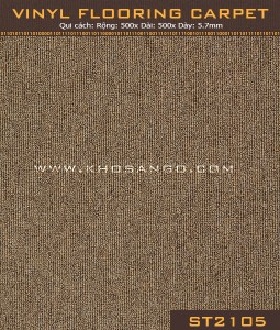 Vinyl Flooring Carpet ST2105