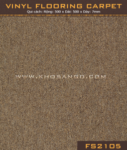 Vinyl Flooring Carpet FS2105