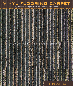 Vinyl Flooring Carpet FS304