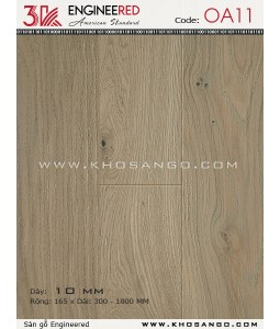 3K wood flooring Engineered OA11