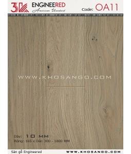 Sàn gỗ 3K Engineered OA11