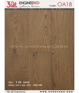 3K wood flooring Engineered OA18