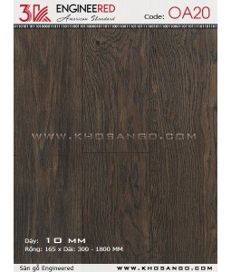 3K wood flooring Engineered OA20