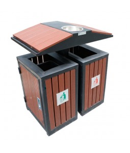 Recycle bin outdoor TRD01-DG