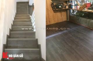 Sàn gỗ công nghiệp Smartwood lót sàn chung cư cao cấp Phú Mỹ Hưng