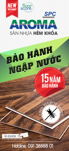 Sàn nhựa Aroma SPC