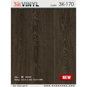 Sàn nhựa 3K Vinyl K170