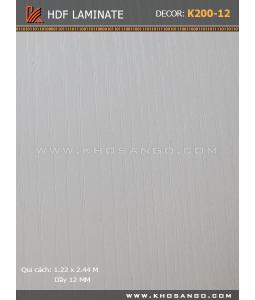 HDF Laminate Floorboards K200-12