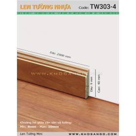 Len Tường nhựa TW303-4