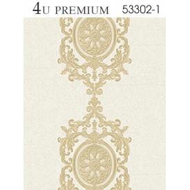 Giấy dán tường 4U Premium 53302-1