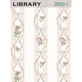 Giấy dán tường LIBRARY 2590-1