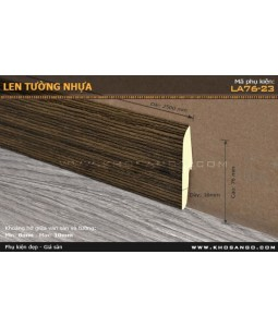 Plastic skirting LA76-23