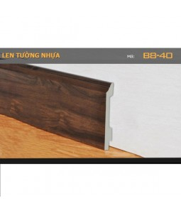 Plastic skirting B8-40-120
