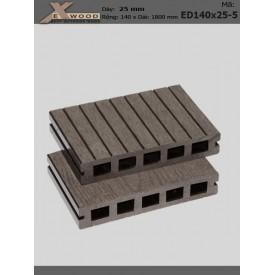 Sàn gỗ Exwood ED140x25-5 Coffee