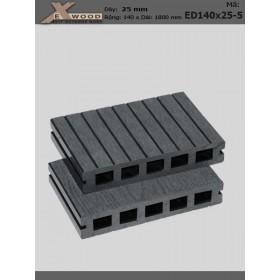 Sàn gỗ Exwood ED140x25-5 Dark Grey