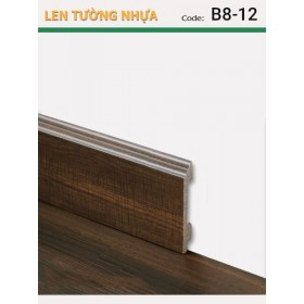 Plastic skirting B8-12