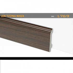 Plastic skirting L76-9