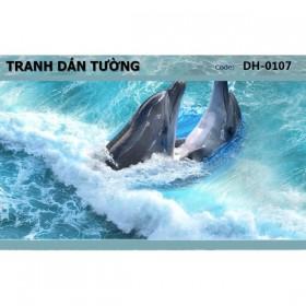 Tranh dán tường Đại Dương 3D DH-0107