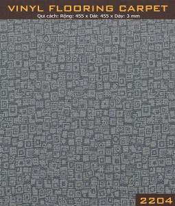 Vinyl Flooring Carpet  2204