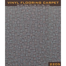Vinyl Flooring Carpet  2205