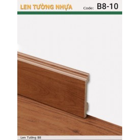 Plastic skirting B8-10